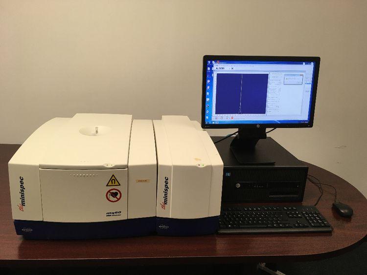 Bruker Minispec mq60 Benchtop NMR, Analyzer