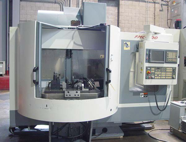Leadwell FMC-800, Vertical Machining Center 3 Axis