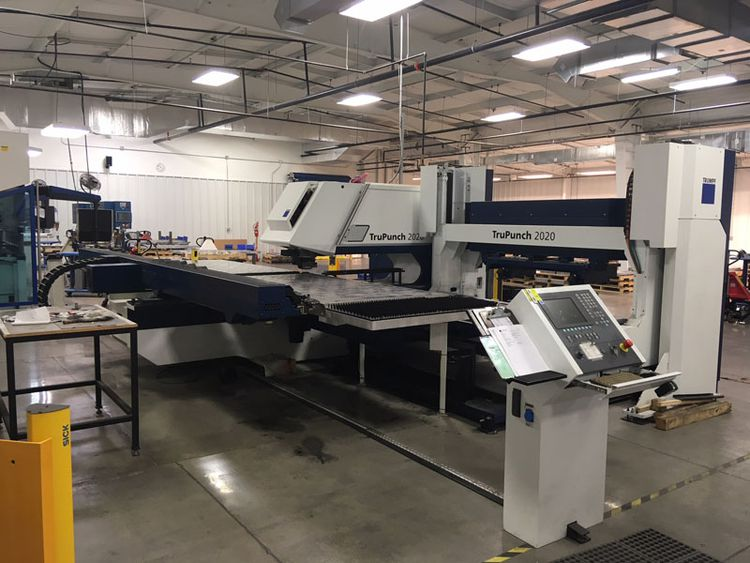 Trumpf TruPunch 2020 full rotation punch press Max. 20 Ton