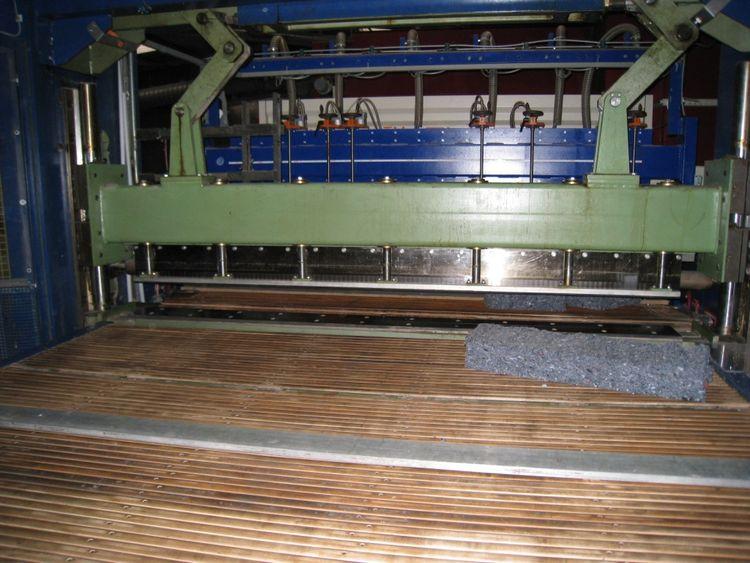Mohr Guillotine cutting machine