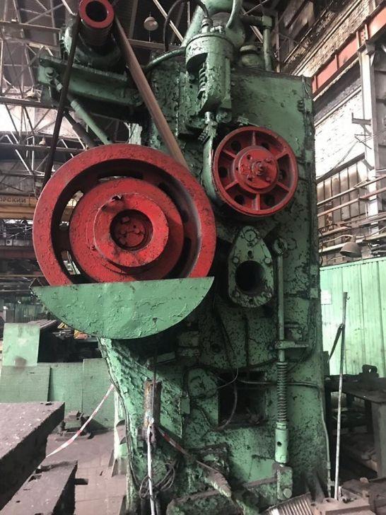 Voronezh Hot forging press K863 1000 Ton