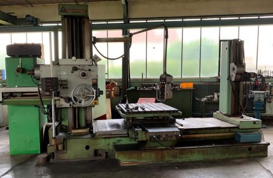 TOS W 9 A spindle-Ø: 90 mm 1400 rpm