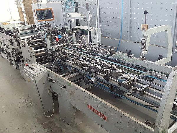 Jagenberg DIANA 925-4, Gluing Machine