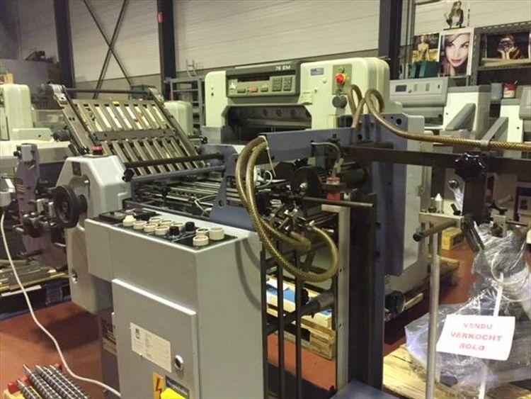Stahl T36/4-F-KB36, Buckle folding machine