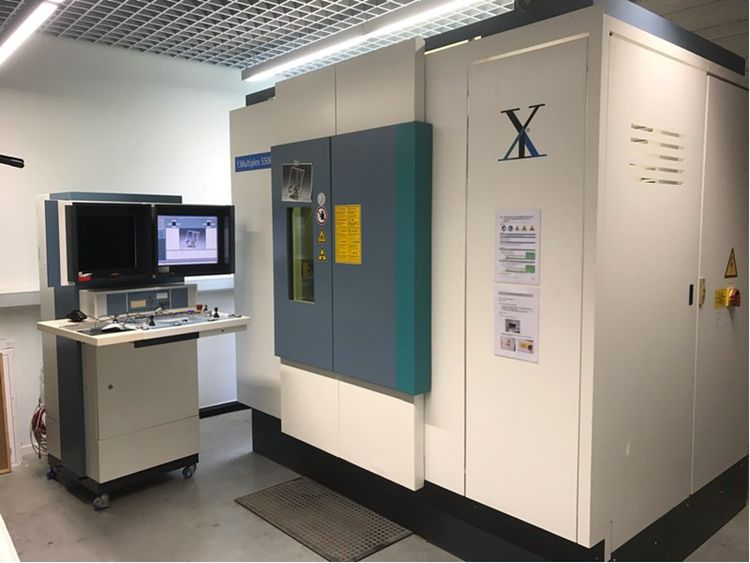 Yxlon Multiplex 5500 M industrial live-stream X-ray system