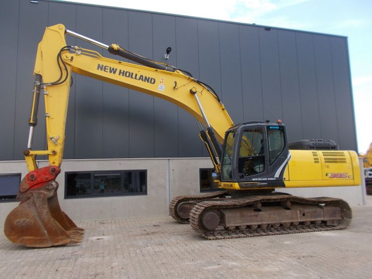 New Holland E385C Tracked Excavators