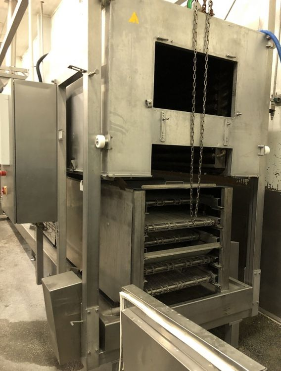 Sprematec NGT/2 Hot air tunnel / cooking machine / frying line / hot air oven