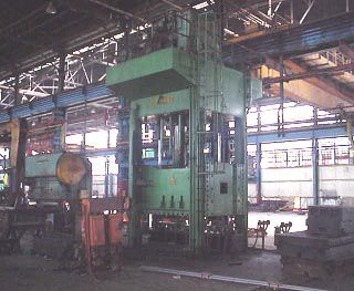 Clearing Hydraulic Press 750 Ton