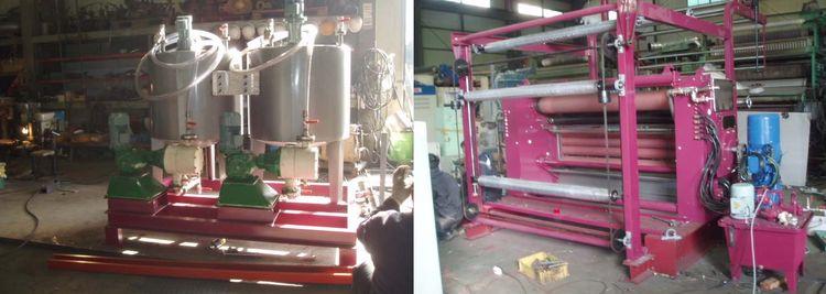 Kusters Cold Pad Batch Machine 160 Cm