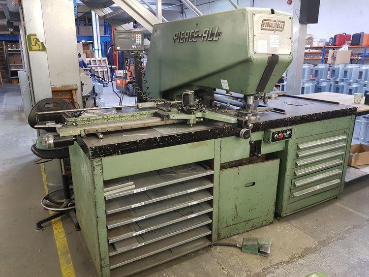 Pierce All 3025 48/30 Hydraulic Punching Machine 25 tons (250 kN)
