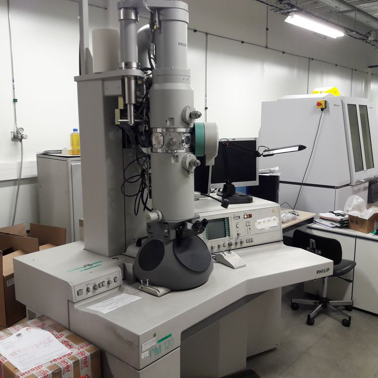 Philips CM120 transmission electron microscope