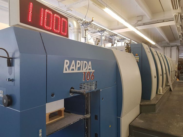 Koenig & Bauer RAPIDA 106/8 SW4 8 74x106