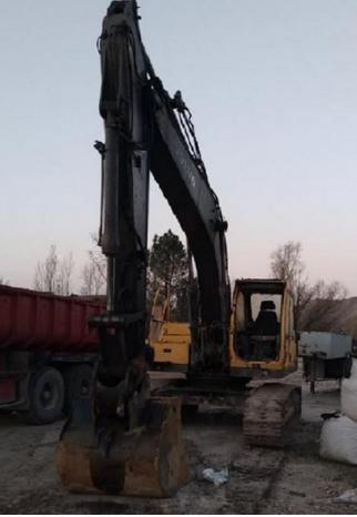 Volvo EC 210 LC Tracked Excavator