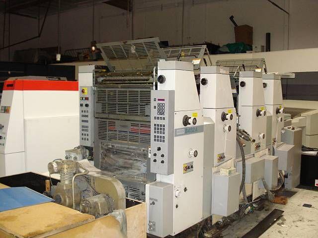 Hamada B452A. 4 Colors Offset Machine Max. 36 x 52 cm