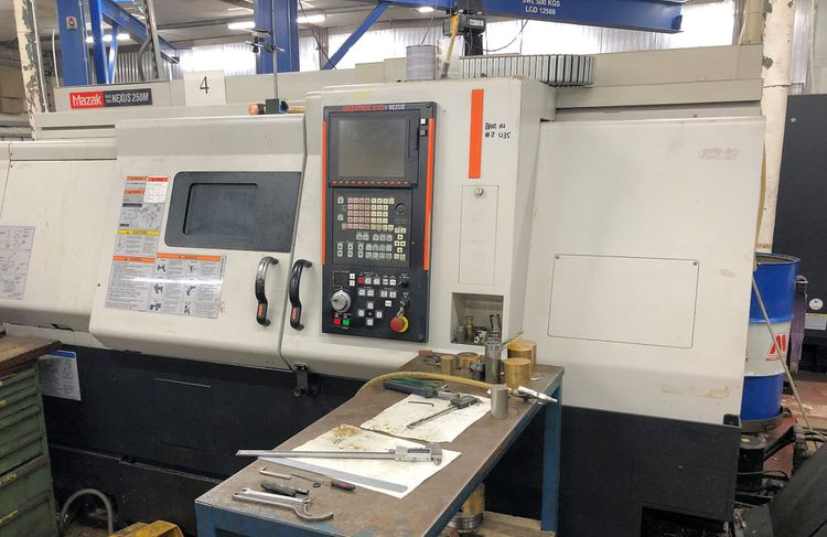 Mazak Mazatrol 640T Nexus 4500 rpm Quick Turn Nexus 250M 3 Axis