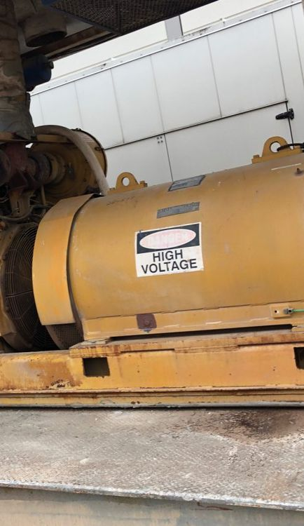 Kato 6P6-2900 Generator End – 600V 1050