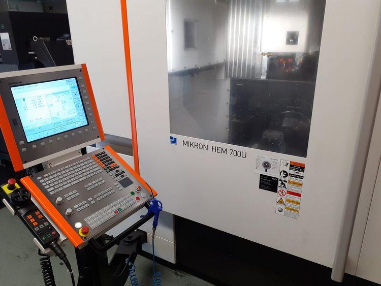 Mikron HEM 700U 3 Axis