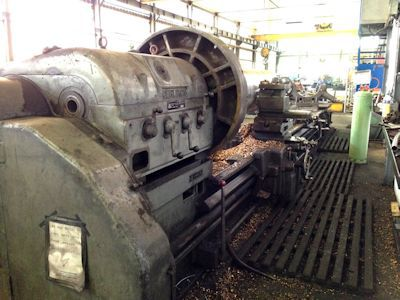 Oerlikon Engine Lathe Variable DM5A