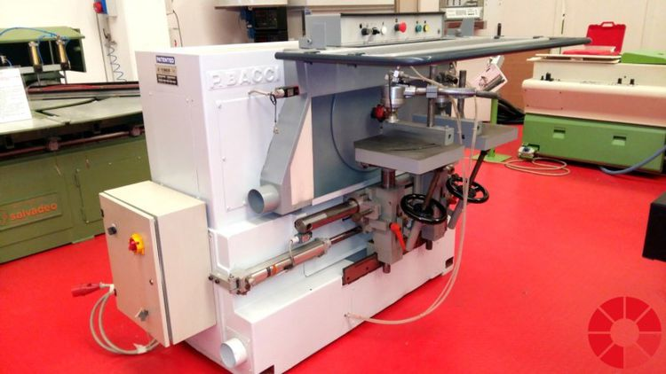 Bacci TSG 2T Rounding off tenoning machine with two tables