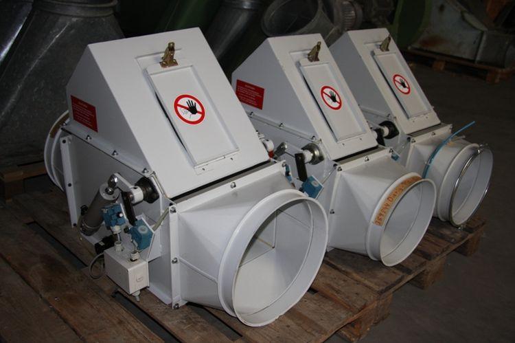 12 Trützschler FSK 500 Auxiliary Blowroom