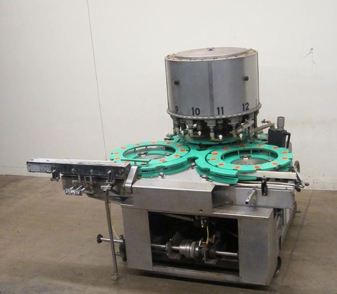 Consolidated TG 12 Scale Capper 8 Head