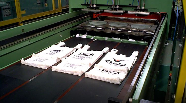 Elba ELBA SA90-E 09  T-shirt welding/bag making machine