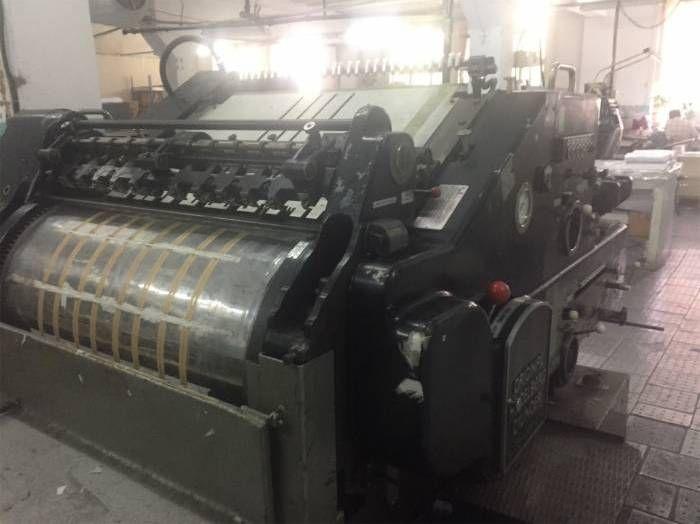 Heidelberg SBD, Die Cutting machine
