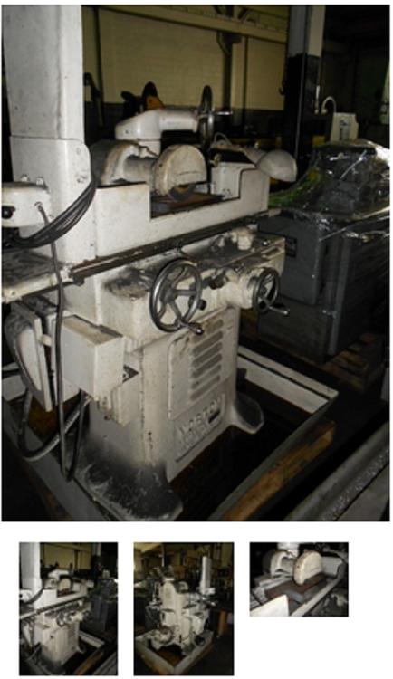 "Norton 6"" X 18"", Manual Surface Grinder"
