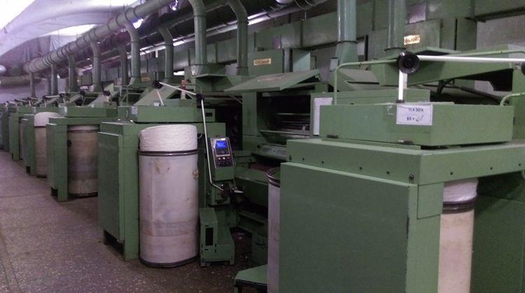 Crosrol MK-5-D CARDING MACHINES