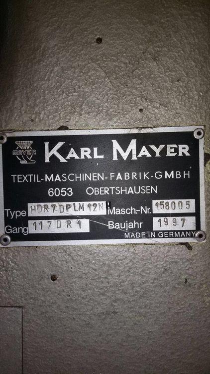 3 Karl mayer HDR6 10-30  16 Fein 10-30