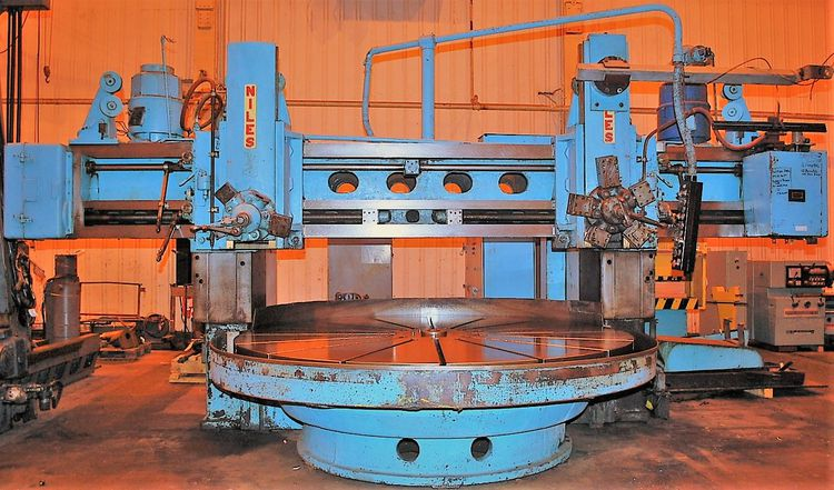 Niles F120T Vertical Boring Mill Vertical Boring Mill - Vertical Lathe