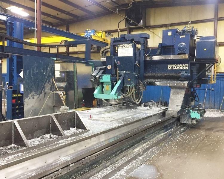 Cincinnati 5-Axis CNC Gantry Mill 3600 RPM