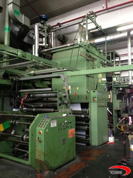 Nordmeccanica Laminator / Coating Machine Lamination + Primer + Cold seal/ Coating