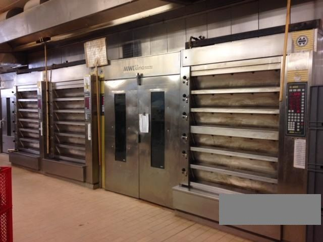 2 Miwe thermo-express deck ovens
