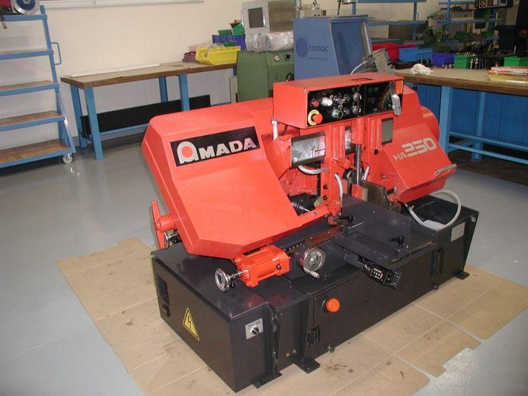 Amada HA 250 Band Saw Semi Automatic