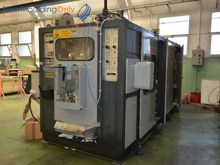 Techne System 5000 S, Blow moulding machine