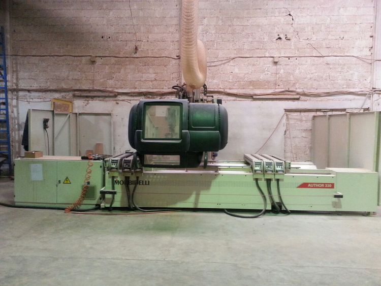 Morbidelli AUTHOR 330, CNC