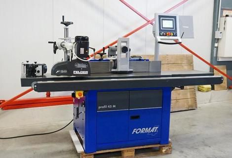 Format Swivel spindle milling machine