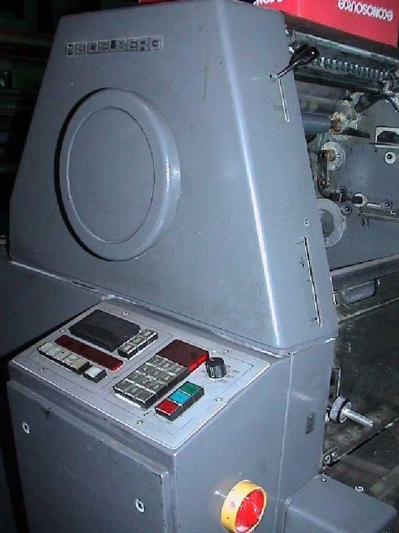 Heidelberg TOK , 1 color Offset machine