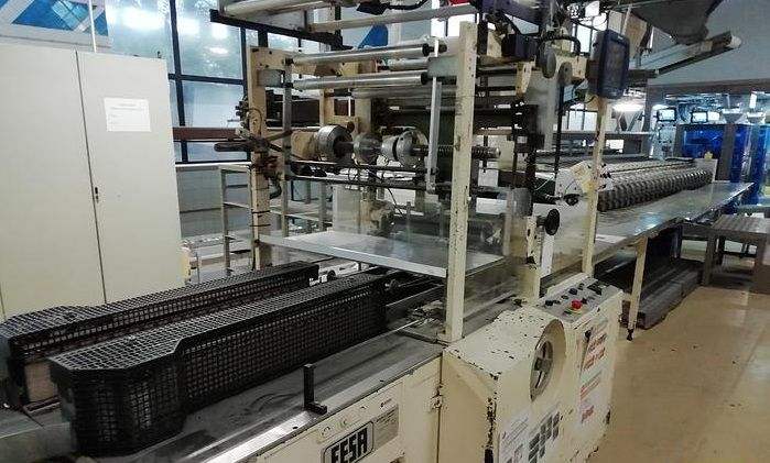 FESA FA60  Biscuit Roll Wrapping Machine