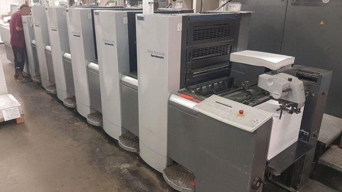 Heidelberg SM52-5+LX 14 x 20 inch