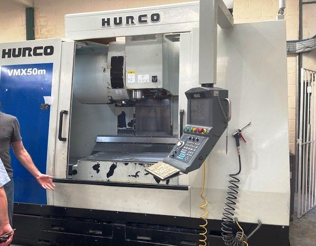 Hurco VMX50M Vertical Machining Centre with MAX Control. 3 Axis