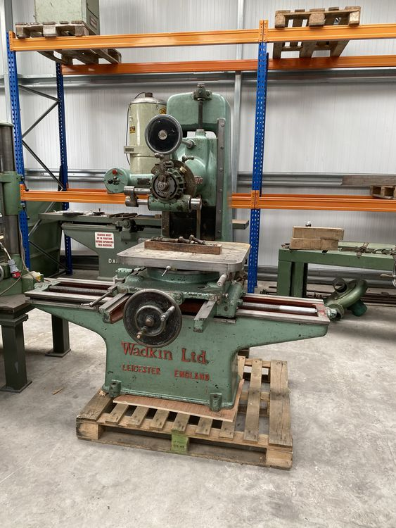 Wadkin WS Junior Pattern Mill With Tooling