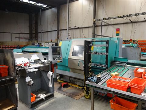 Index Control Siemens 840D Variable G200 + barfeeder 2 Axis