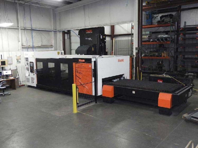 Mazak Nexus 3015 CO2 Laser w/Mnual Table CNC Control