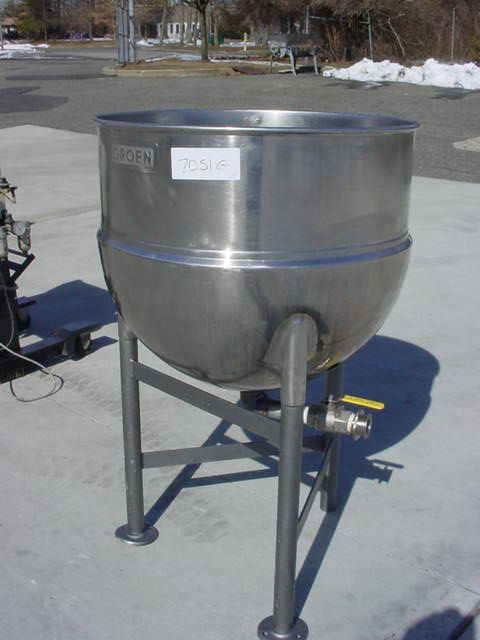 Groen STAINLESS JACKETED KETTLE N60SP