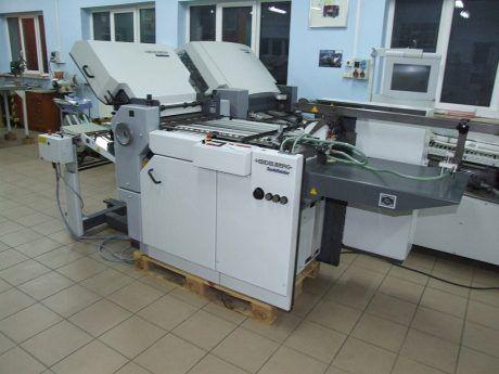 Heidelberg Stahlfolder TI 52-4, Folding Machine