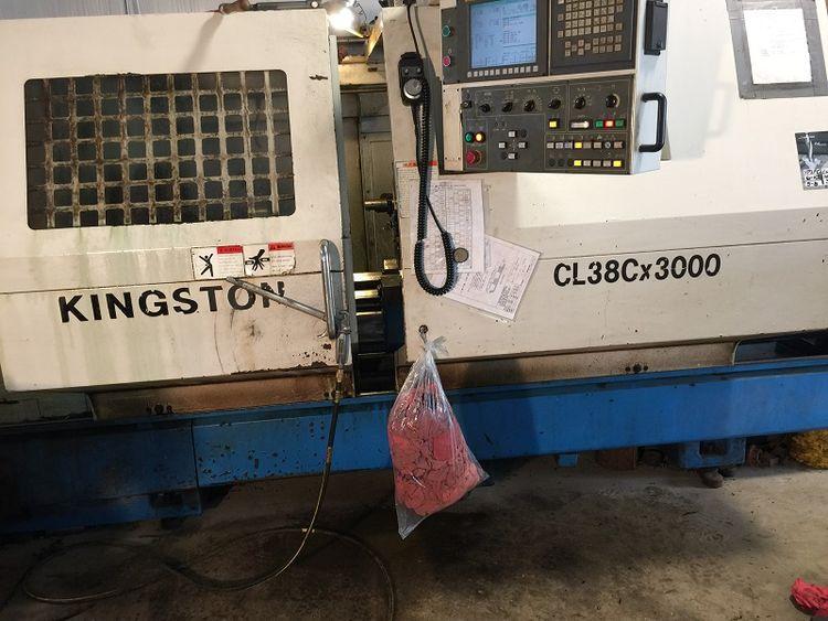 Kingston Fanuc 0i-TC Variable CL38C/3000 2 Axis