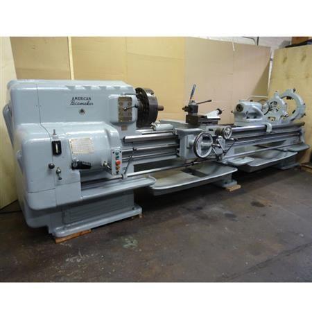 American Engine Lathe 1200 rpm PACEMAKER 20 X 120 LATHE