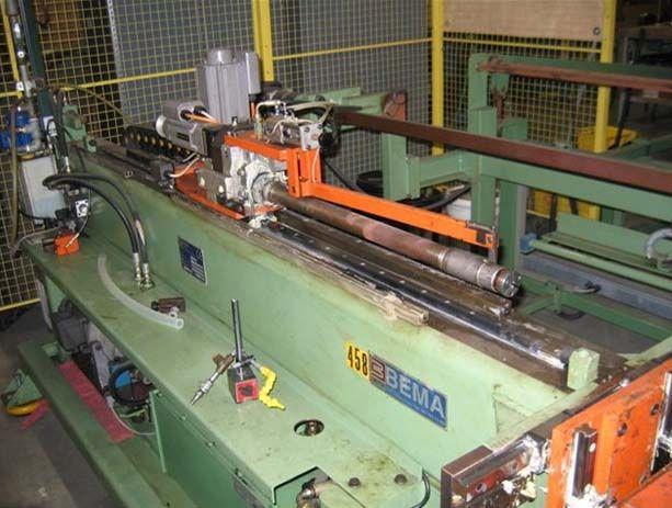 Bema Rekord 25 Fgc24ds, Automatic Cnc Tube Bending Machine